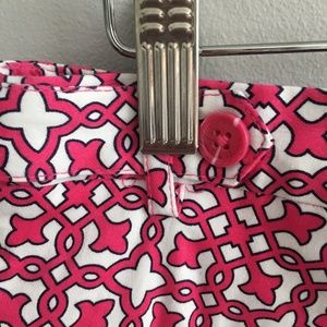 Laundry By Shelli Segal Shorts - Laundry Magenta Printed Shorts